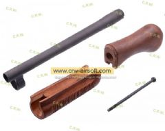 DM870 SAWED-OFF WOOD STOCK & FOREND KIT